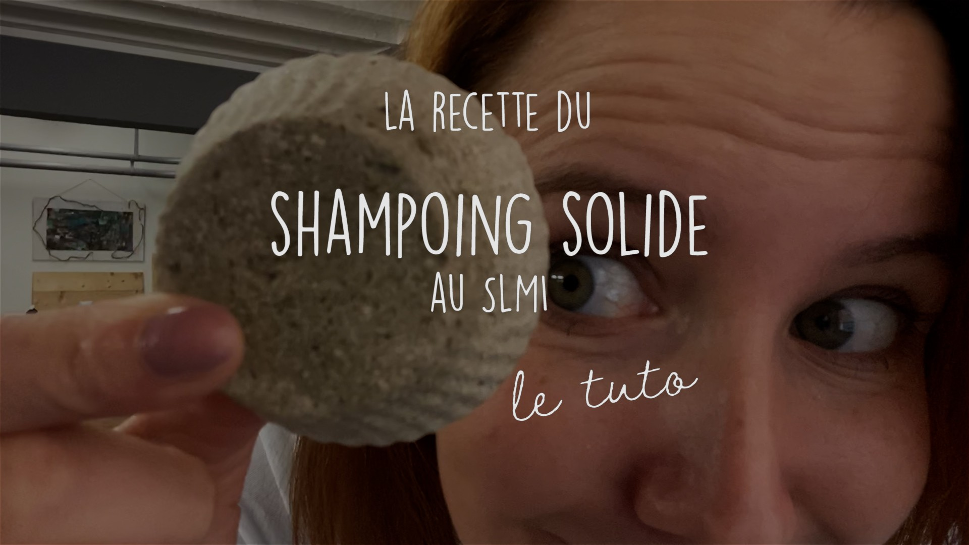 Shampoing solide au SLMI - Recettes & tuto